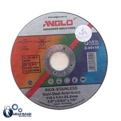 سنگ مینی برش استیل انگلو 22.2*1*115